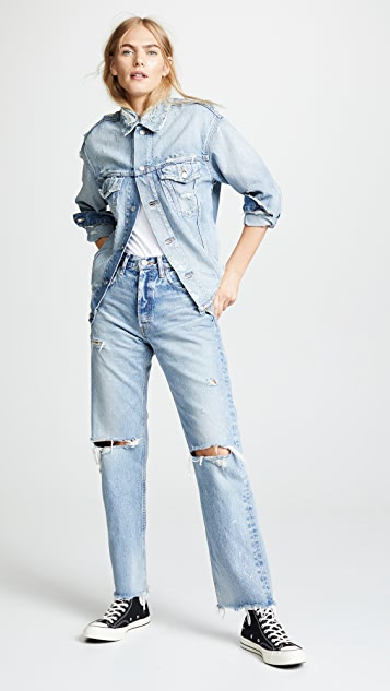 MOUSSY VINTAGE MV Mettler Trucker Jacket