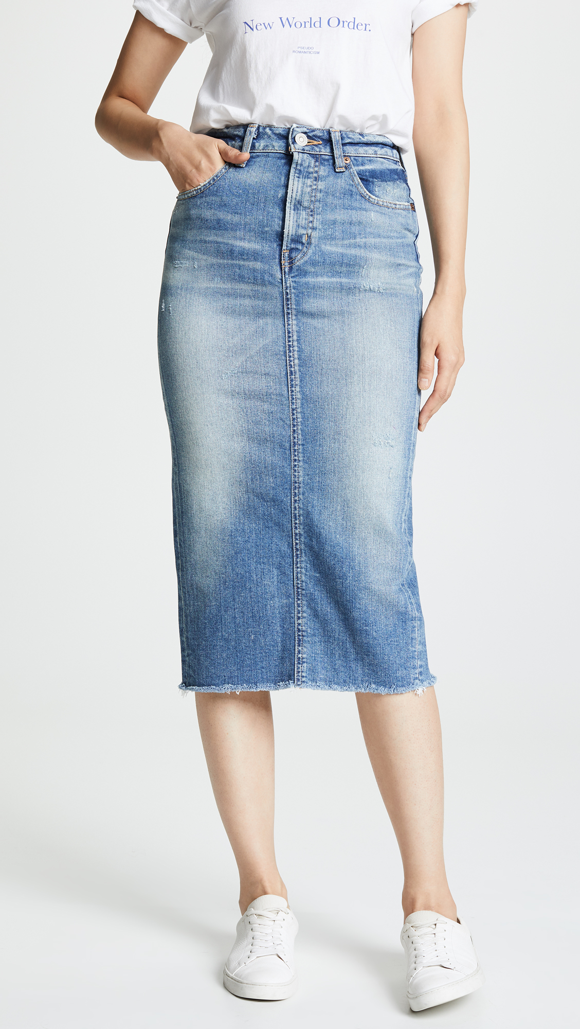 MOUSSY VINTAGE Norman Comfort Long Skirt