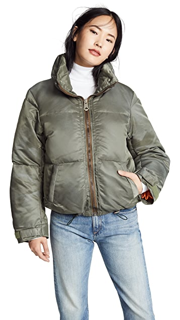 MOUSSY VINTAGE Muffler Set Down Coat