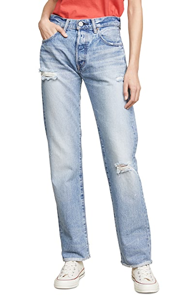 MOUSSY VINTAGE MV Steele Straight Jeans