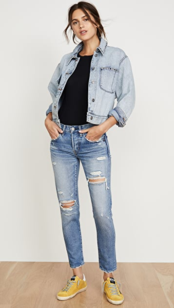 MOUSSY VINTAGE Bowie Tapered Jeans