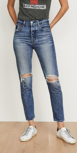 MOUSSY VINTAGE - Beckton Tapered Jeans