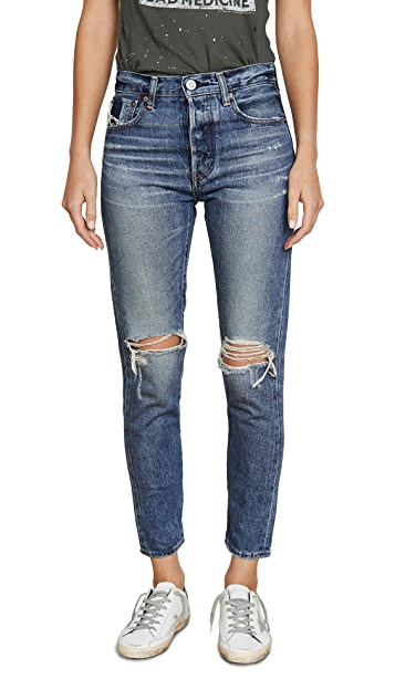 MOUSSY VINTAGE Зауженные джинсы Beckton