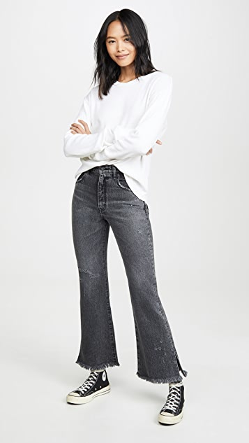 MOUSSY VINTAGE Hershey Flare Jeans