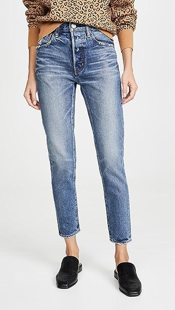 MOUSSY VINTAGE Зауженные джинсы Moskee с высокой талией