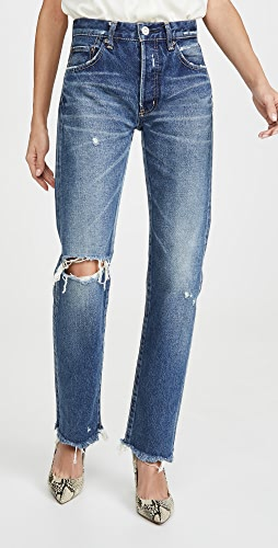 MOUSSY VINTAGE - Guilford Straight Jeans