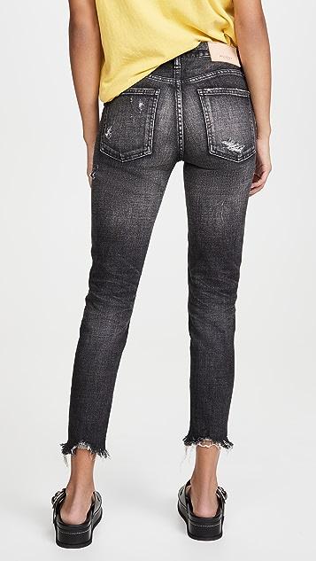 MOUSSY VINTAGE MV Glendele Skinny Black Jeans