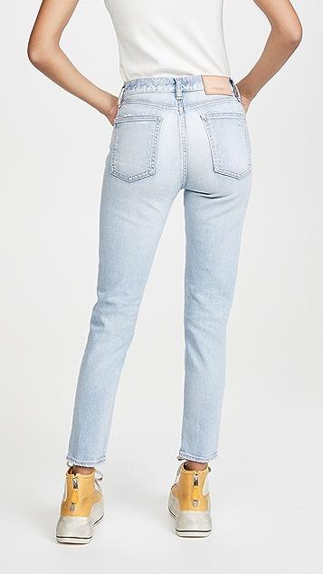 MOUSSY VINTAGE Hillrose 紧身牛仔裤