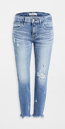 MOUSSY VINTAGE - MV Glendele Skinny Jeans Light Blue