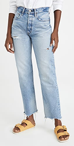 MOUSSY VINTAGE - Lomita Wide Straight Jeans