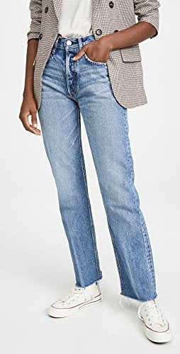 MOUSSY VINTAGE - Ashley's Wide Straight Jeans