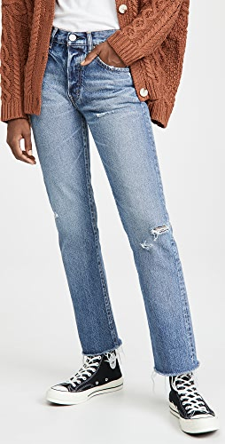 MOUSSY VINTAGE - Franconia Straight Jeans