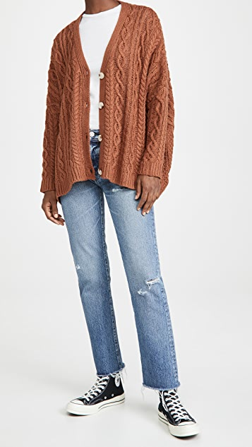 MOUSSY VINTAGE Franconia Straight Jeans