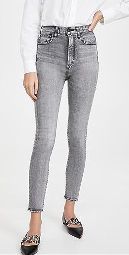 MOUSSY VINTAGE - Carmel Rebirth Skinny High Jeans