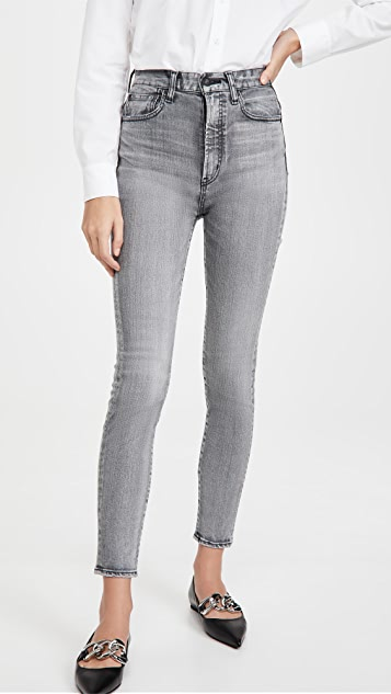MOUSSY VINTAGE Carmel Rebirth Skinny High Jeans