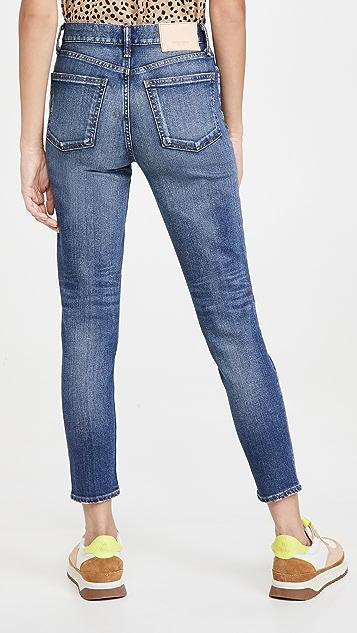 MOUSSY VINTAGE Tamworth 紧身高腰牛仔裤