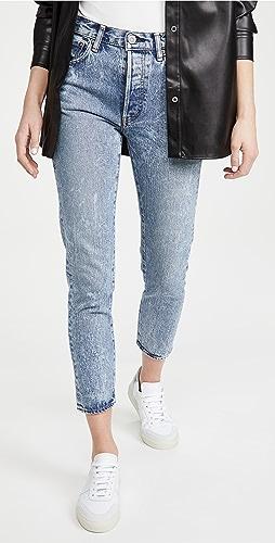 MOUSSY VINTAGE - MV Howells Tapered Hi Jeans