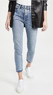 MOUSSY VINTAGE MV Howells Tapered Hi Jeans