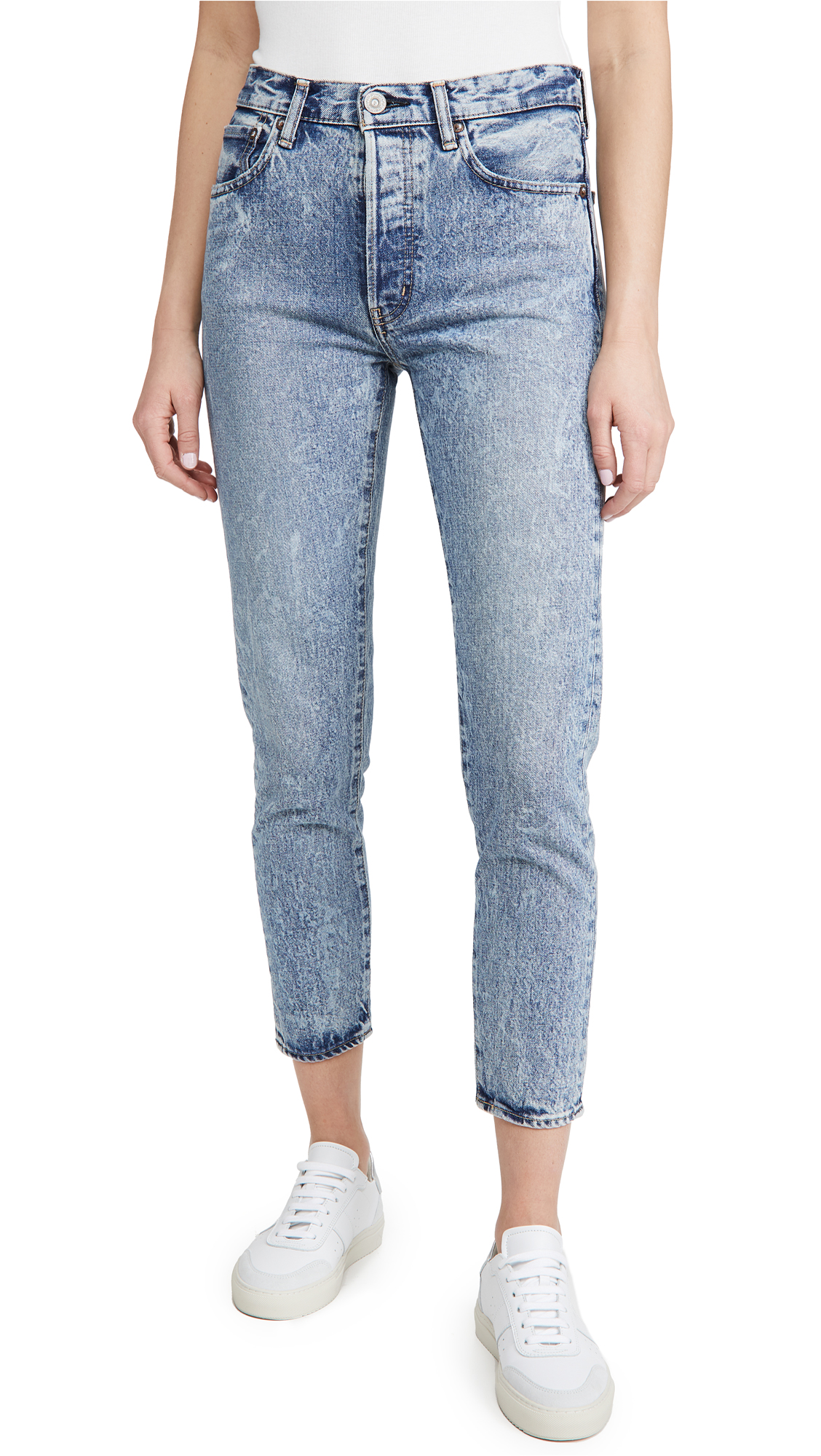 MOUSSY VINTAGE MV Howells Tapered Hi Jeans