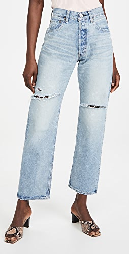 MOUSSY VINTAGE - MV Teaneck Wide Straight Jeans