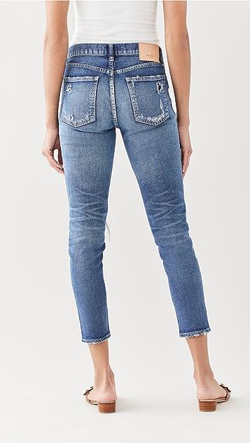 MOUSSY VINTAGE MV Lenwood Skinny Blue Jeans
