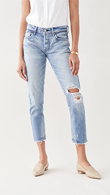 MOUSSY VINTAGE Raleigh Tapered Jeans