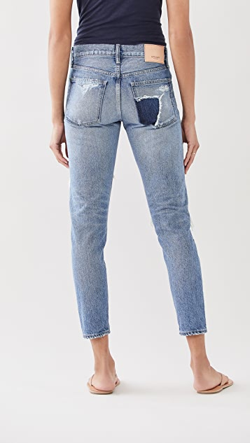 MOUSSY VINTAGE MV Louisville Tapered Jeans