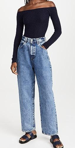 MOUSSY VINTAGE - Mv San Jose Wide Tapered Jeans