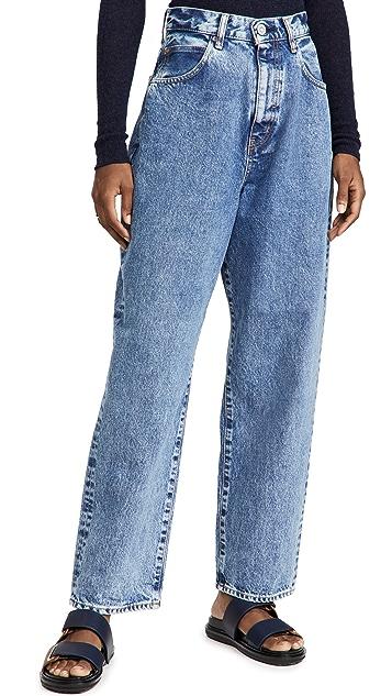 MOUSSY VINTAGE Mv San Jose Wide Tapered Jeans