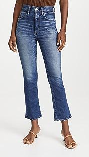 MOUSSY VINTAGE MV Otis Flare High Jeans