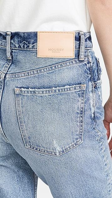 MOUSSY VINTAGE MV Dells Boy Skinny Jeans
