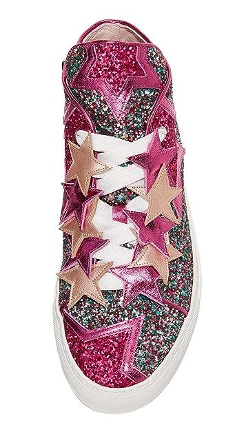 Minna Parikka Stardust High Top Sneakers