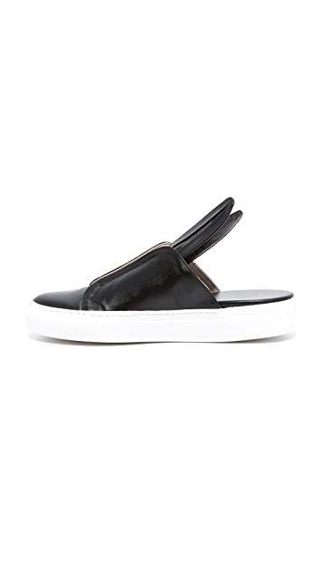 Minna Parikka Bunny Slip On Sneakers