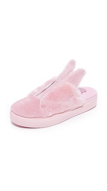 Minna Parikka Bunny Slip On Sneakers