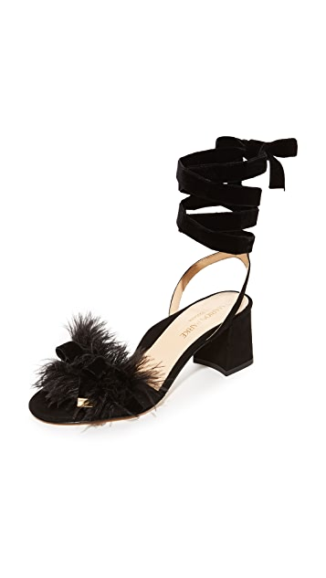 Marion Parke Babette Feather Sandals