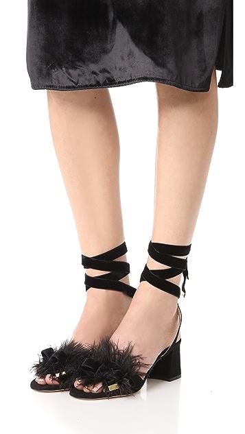Marion Parke Babette Feather Sandals