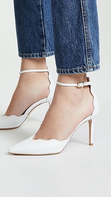Marion Parke Mara 踝带浅口鞋