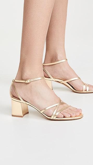 Marion Parke Сандалии Bianca на каблуках высотой 60мм