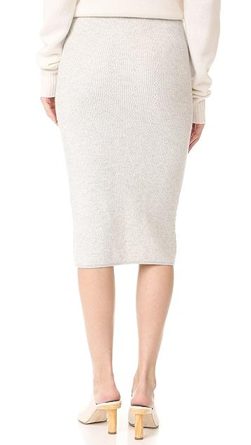 M.PATMOS Cobert Cable Skirt
