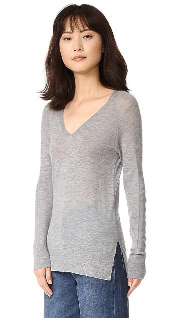 M.PATMOS Playa Cashmere V Neck Sweater
