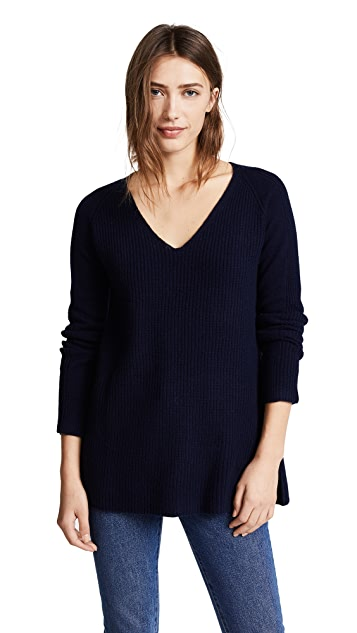 M.PATMOS Volcan V Neck Sweater