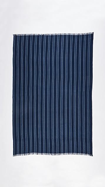 M.PATMOS Brunoy Striped Scarf