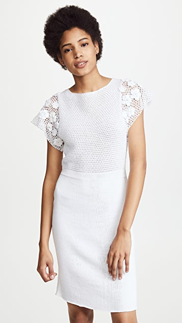 M.PATMOS Cora Crochet Dress