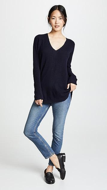 389425bfab M.PATMOS Hutton Shirttail Cashmere Sweater | SHOPBOP
