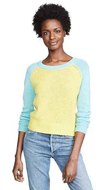 M.PATMOS Patan Colorblock Cashmere Sweater