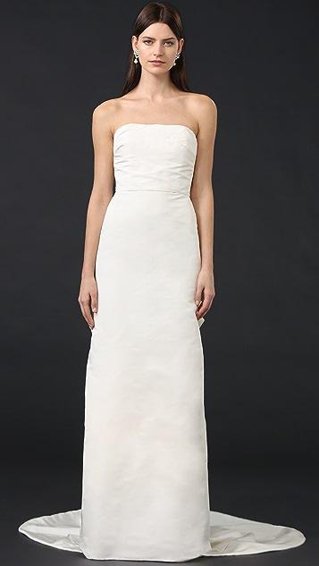 Marchesa Iris Strapless Gown