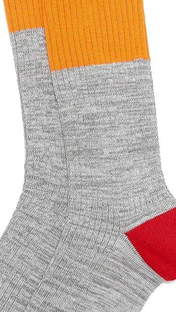 Mr. Gray High Vis Colorblock Socks