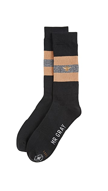 Mr. Gray Bee Keeper Socks