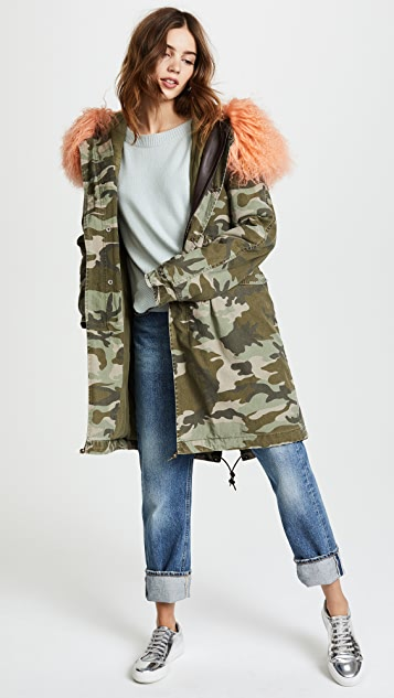 Mr & Mrs Italy Saline Midi Parka