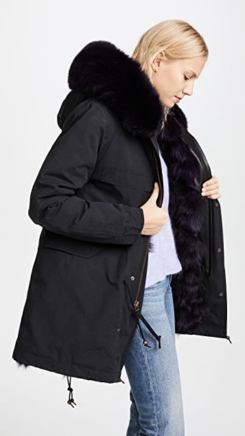 Mr & Mrs Italy Midi Parka